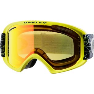 Oakley Oframe 2.0 XL Skibrille galaxy blue laser-fire irdidium