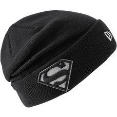 New Era Superman Beanie Kinder black