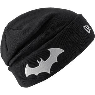 New Era Batman Beanie Kinder black