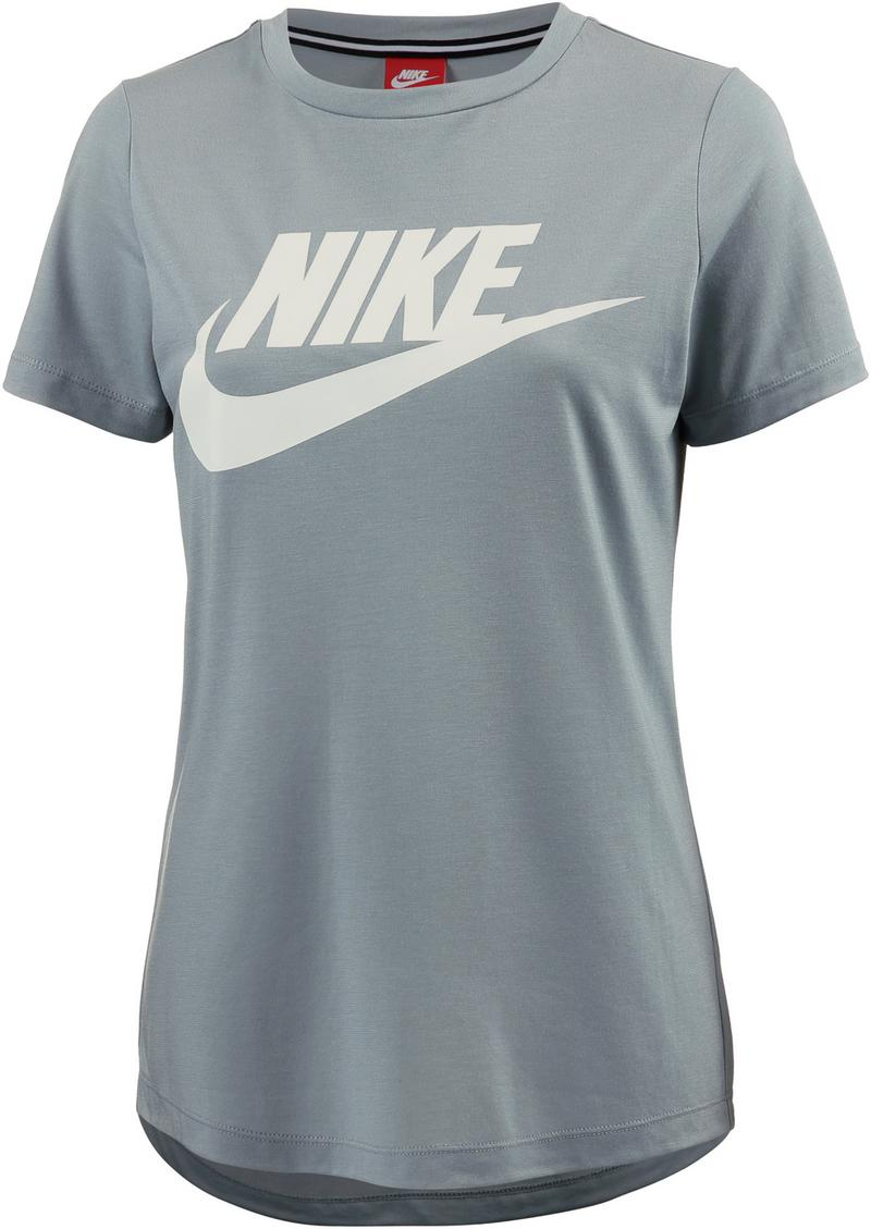 Nike Damen T-Shirt 829747, Light Pumice/Light Pumice/White, M
