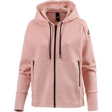 adidas ID Stadium Sweatjacke Damen stadium heather-aero pink