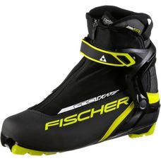 Fischer Race Pro Skate Langlaufschuhe black-yellow