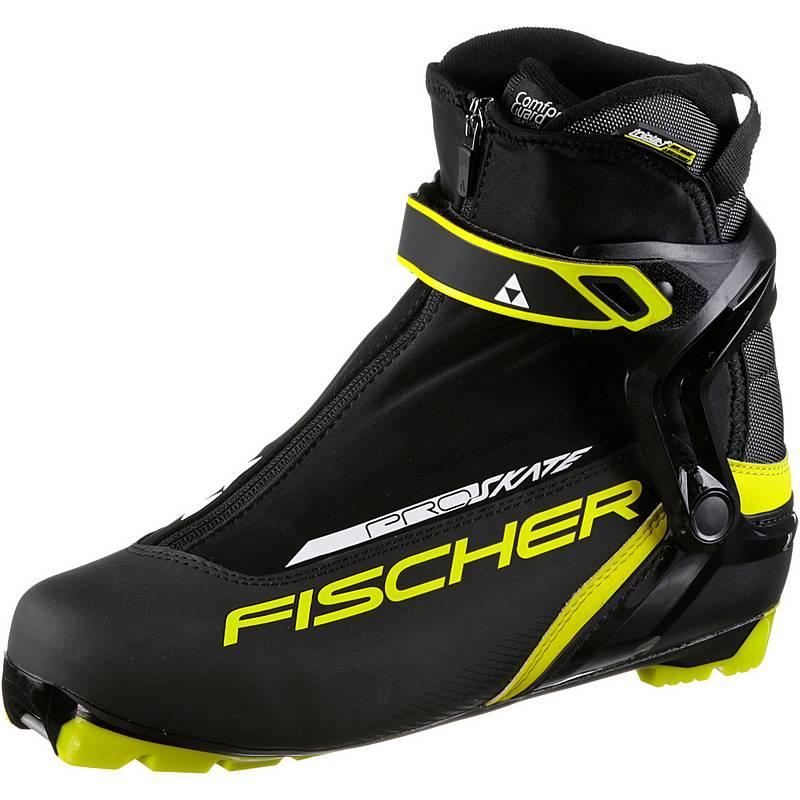 FischerRace Pro Skate  Langlaufschuheblackyellow