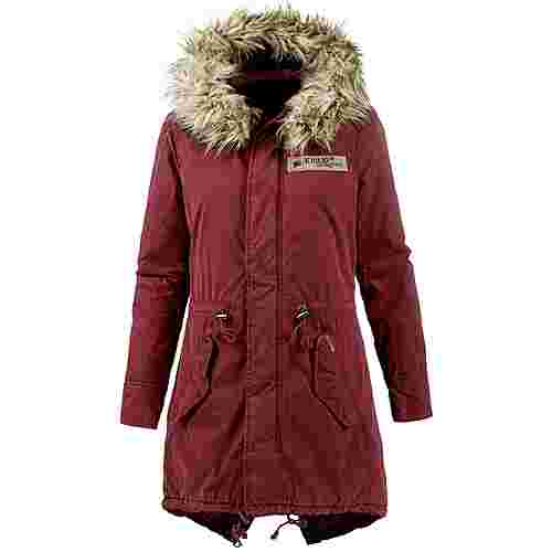 Khujo KENITA Parka Damen wine-red