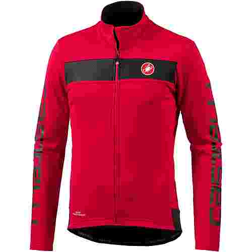castelli Raddoppia Fahrradjacke red