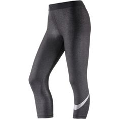 Nike Pro Cool Tights Damen black-silver