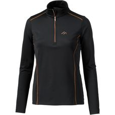 Maier Sports Janetta Funktionsshirt Damen black/copper