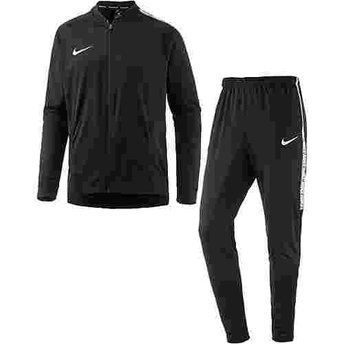 Nike Squad Trainingsanzug Herren black/black/white/white