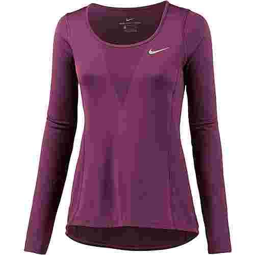 Nike Relay Laufshirt Damen tea berry