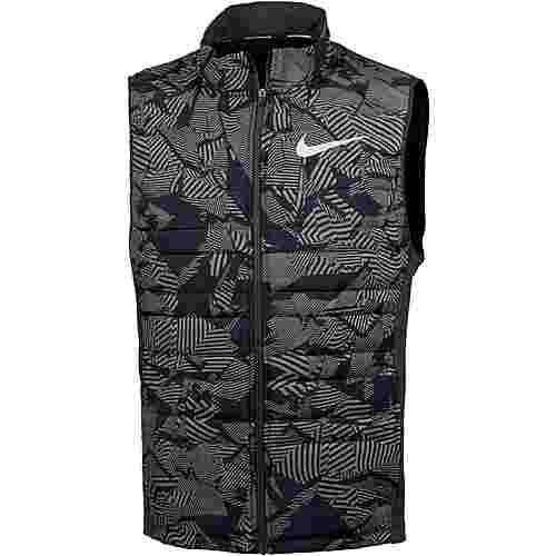 Nike Essential Laufweste Herren black-black-metallic-silver