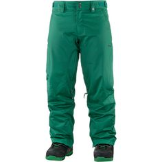 Zimtstern Typerz Herringbone Snowboardhose Herren Green