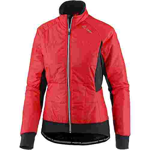 Löffler Primaloft Mix Fahrradjacke Damen poppy red