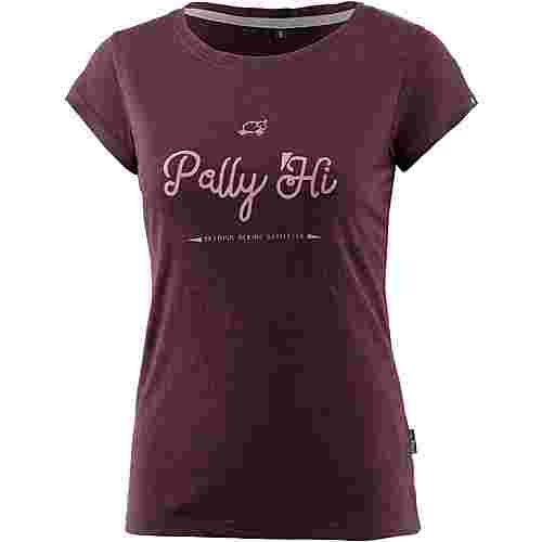Pally Hi SHEEP TRICK Funktionsshirt Damen Heather Shiraz