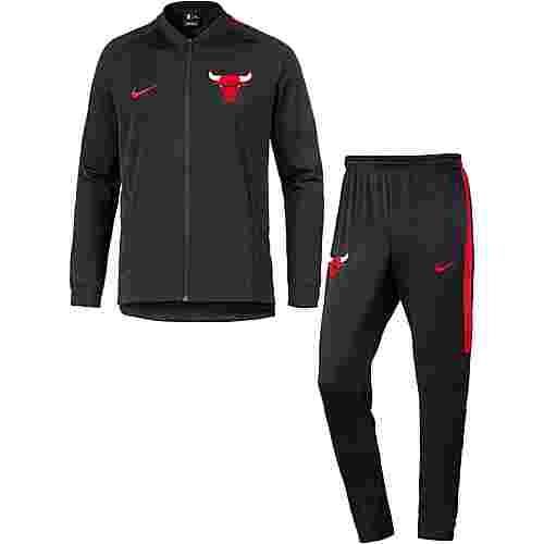 Nike CHICAGO BULLS Trainingsanzug Herren BLACK/UNIVERSITY RED/UNIVERSITY RED