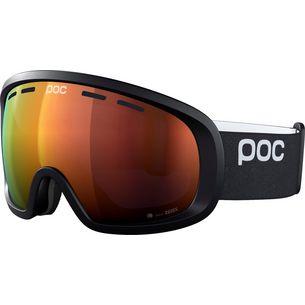 POC Fovea Clarity Skibrille uiranium black-spektris orange
