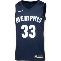 Nike MARC GASOL MEMPHIS GRIZZLIES Basketball Trikot Herren COLLEGE NAVY/BLUE TINT/LIGHT BLUE