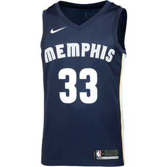 Nike MARC GASOL MEMPHIS GRIZZLIES Basketballtrikot Herren COLLEGE NAVY/BLUE TINT/LIGHT BLUE