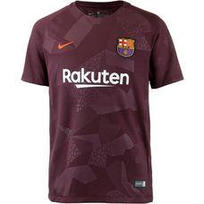 Nike FC Barcelona 17/18 CL Fußballtrikot Kinder NIGHT MAROON/(HYPER CRIMSON)