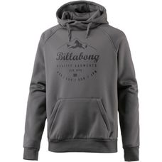 Billabong DOWNHILL BONDED HOOD Fleecehoodie Herren GREY