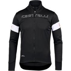 castelli Transition Fahrradjacke black-white