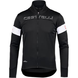 castelli Transition Fahrradjacke black-white