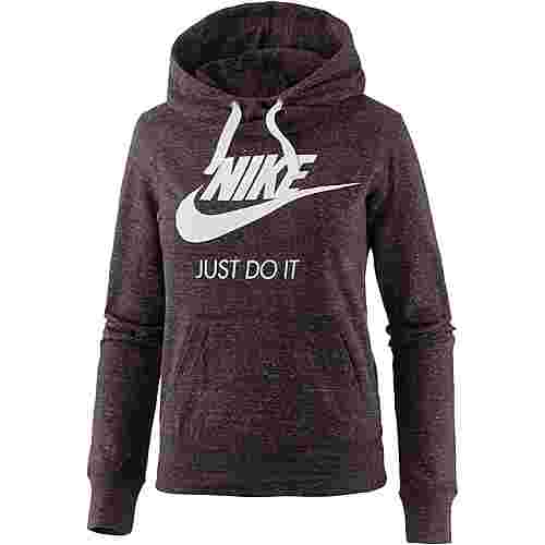 Nike Gym Vintage Hoodie Damen port wine-sail