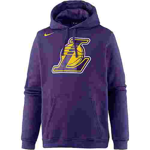 Nike LOS ANGELES LAKERS Hoodie Herren FIELD PURPLE/FIELD PURPLE