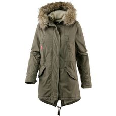 Superdry Rookie Parka Damen deepest army