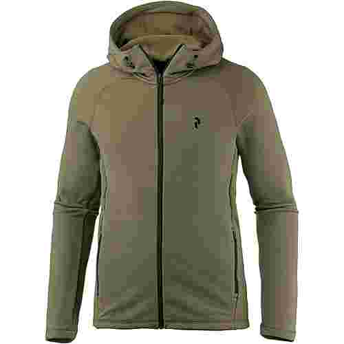 Peak Performance Waitara Funktionsjacke Herren soil olive