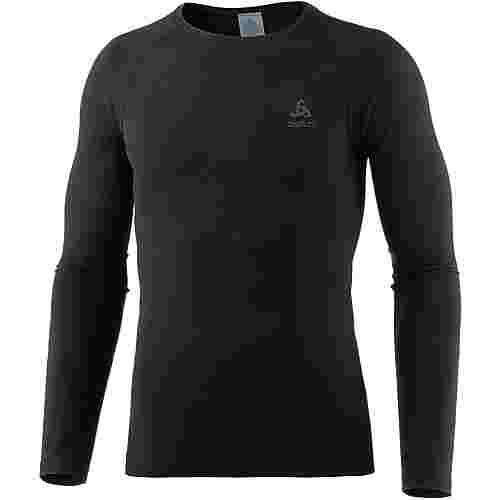 Odlo Evolution WARM Kompressionsshirt Herren black-graphite grey