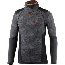 Odlo Blackcomb Evolution WARM Hoodie Herren black-graphite grey