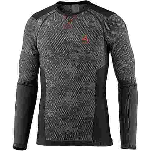 Odlo Blackcomb Evolution WARM Funktionsshirt Herren black-graphite grey