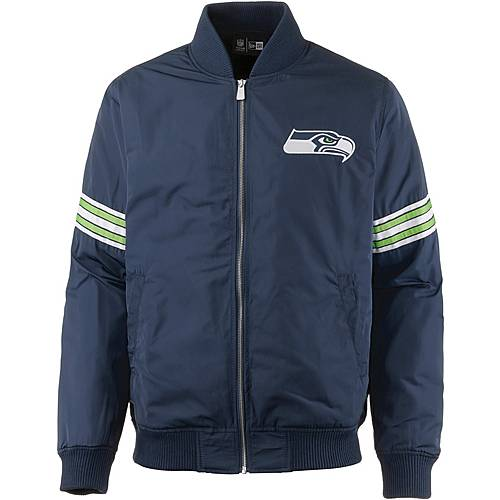 New Era SEATTLE SEAHAWKS Bomberjacke Herren oceanside blue