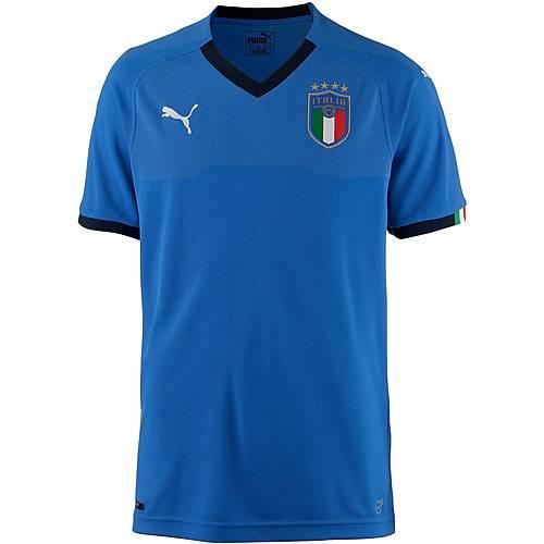 PUMA Italien 2018 Heim Fußballtrikot Herren team power blue-peacoat