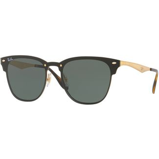 RAY-BAN Blaze Clubmaster 0RB3576N Sonnenbrille gold striped