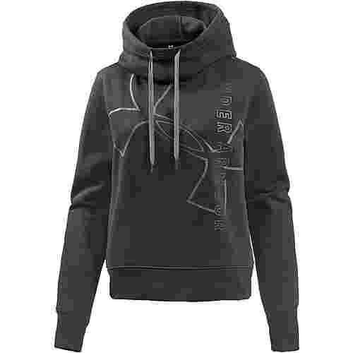 Under Armour Good Europe Hoodie Damen black-stealth gray-stealth gray