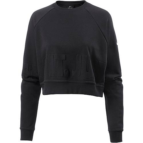 Nike Sweatshirt Damen black-white