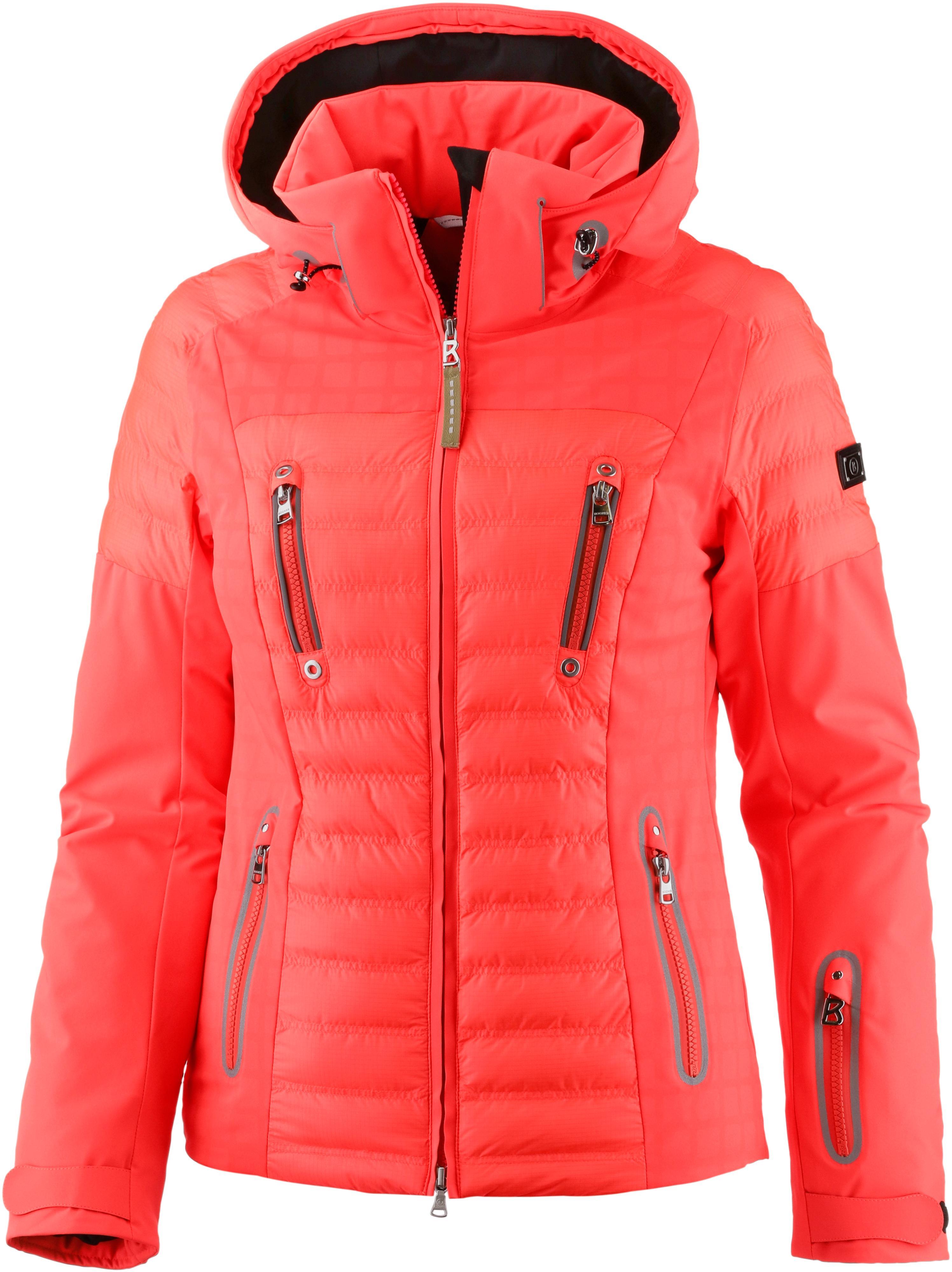bogner paula skijacke damen neon watermelon im online shop von rh sportscheck at
