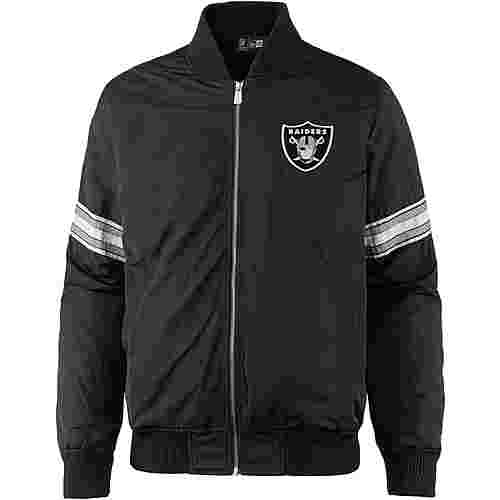 New Era OAKLAND RAIDERS Bomberjacke Herren black