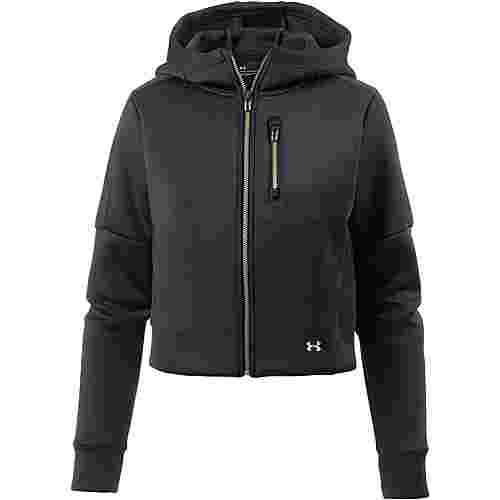 Under Armour Perpetual Sweatjacke Damen black-metallic gold