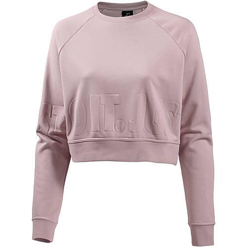 Nike Sweatshirt Damen particle rose-black