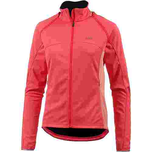 GORE® WEAR Phantom Fahrradjacke Damen lumi orange/coral glow