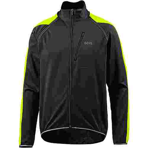 GORE® WEAR Phantom Fahrradjacke Herren black/neon yellow