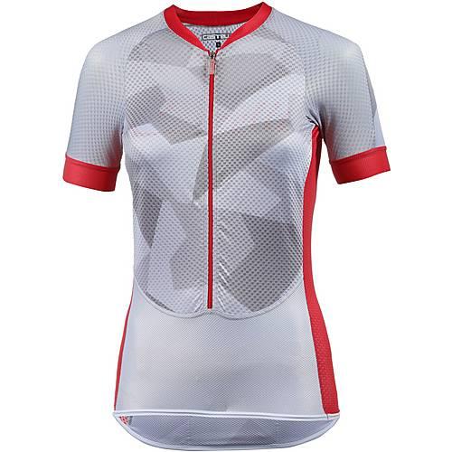castelli Climbers Fahrradtrikot Damen white/red