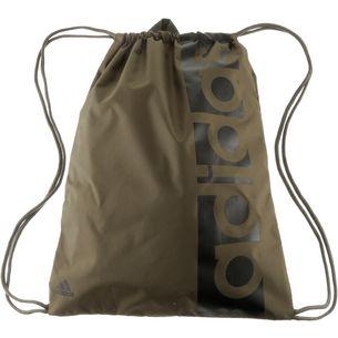 adidas Essentials Linear Turnbeutel Herren trace olive f17-trace olive f17-black