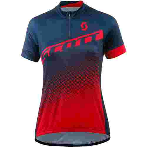 SCOTT Endurance 40 Fahrradtrikot Damen nightfall blue/melon red