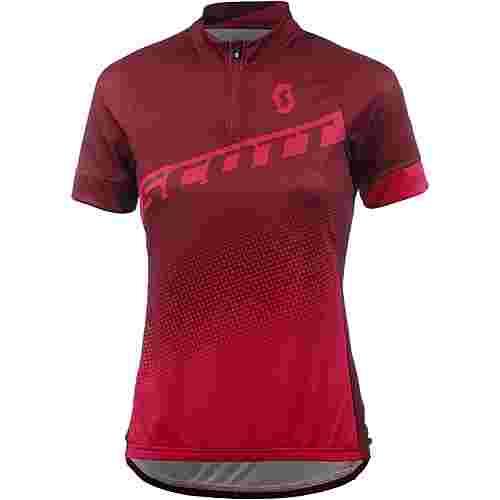 SCOTT Endurance 40 Fahrradtrikot Damen tibetan red/azalea pink