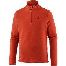 Odlo Roy Layerlangarmshirt Herren orangeade-red dahlia stripes