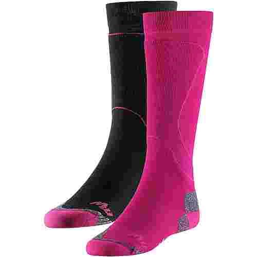 Maui Wowie MW TECH PRO 2er Pack Snowboardsocken Damen Pink