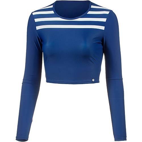 Maui Wowie Langarmshirt Damen blau